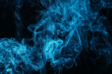 dark texture with blue mystic steam Banque d'images - 105912963