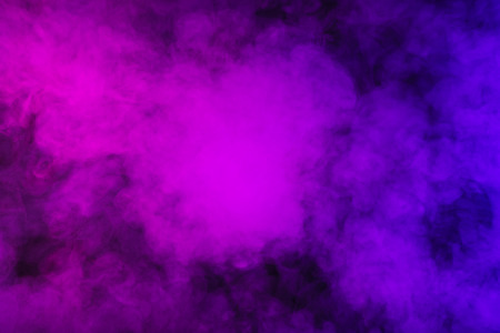 abstract mystic violet smoky background