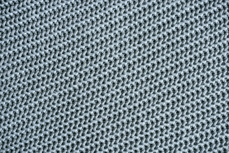 full frame image of grey woolen fabric background Фото со стока