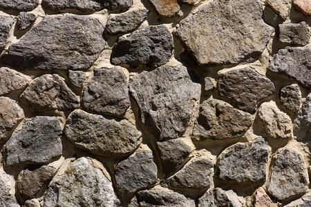 full frame image of stone wall background