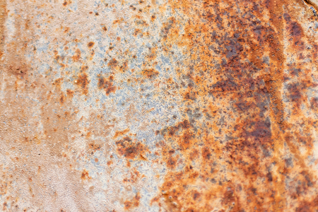 close-up view of old grey rusty texture Banco de Imagens