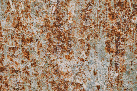 full frame image of rustic metal wall background