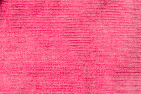 top view of striped pink textile as background