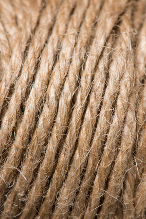 full frame image of beige string background Фото со стока