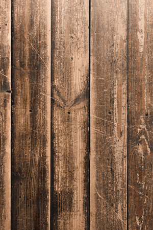 close-up shot of grungy wooden planks for background Stock Photo