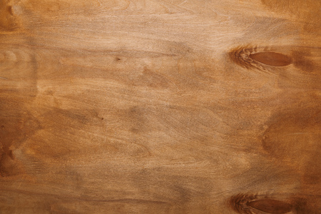Empty smooth wooden surface background
