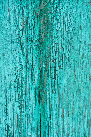 full frame of grungy turquoise wooden texture as background Zdjęcie Seryjne