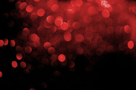 abstract decorative background with blurred red glitter