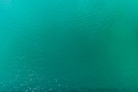 full frame view of beautiful turquoise sea water natural background Stock Photo