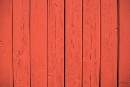 full frame image of red wooden wall background