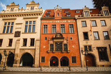 PRAGUE,CZECH REPUBLIC - JUNE 23, 2017: The Old Town Hall of Prague, Czech Republic Editorial