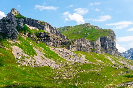 rocky mountains in Durmitor massif, Montenegro
