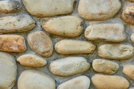 close-up view of grey stone wall textured background