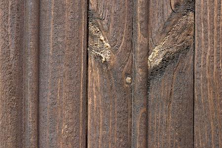 close-up view of dark brown wooden planks, full frame background Reklamní fotografie
