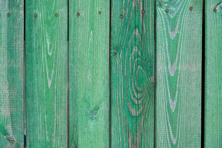 old green wooden planks textured background Reklamní fotografie