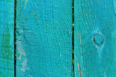 old blue weathered wooden texture, full frame background