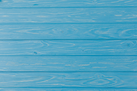 wooden blue striped textured background Stock Photo