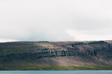 Beautiful landscape with scenic rocky coast in western Iceland 写真素材 - 110793037