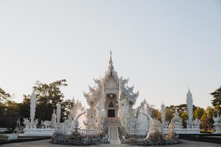 Beautiful Wat Rong Khun White Temple, Chiang Rai, Thailand