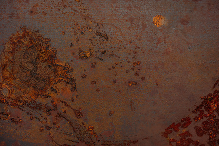 Rusted metal texture for industrial background