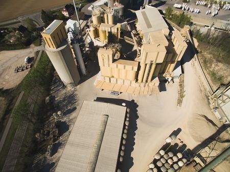 Aerial view of buildings in urban city in Germany Stock fotó