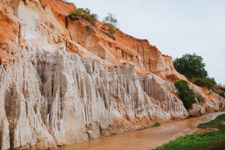 Beautiful Fairy Stream Canyon. Mui Ne. Vietnam Imagens