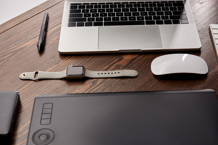 Composed various gadgets on graphics designer workplace