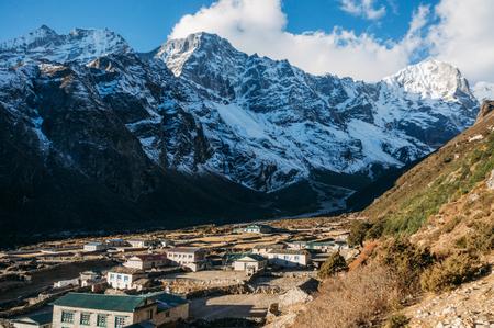 Lower Pangboche village Nepal, Sagarmatha, November 2014 Stock Photo - 111951085