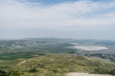 Beautiful summer landscape of Crimea, Ukraine, May 2013