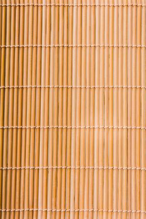 Interlaced sushi bamboo mat texture Reklamní fotografie
