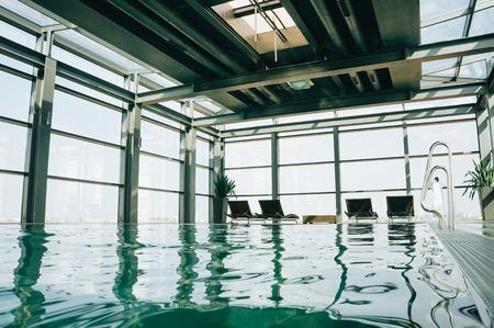 view of indoor swimming pool during daytime, svaneti, georgia