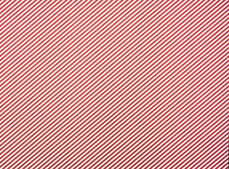 striped diagonal red and white background Stock Photo