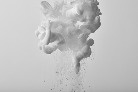 Background with white splash of watercolor paint Banco de Imagens
