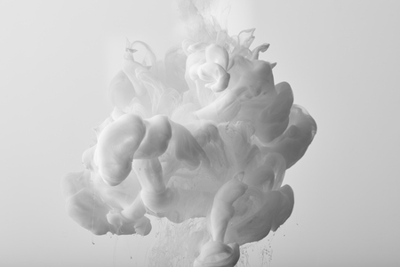 Abstract background with white splash of paint
