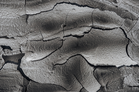 dried cracked wasteland surface, global warming concept