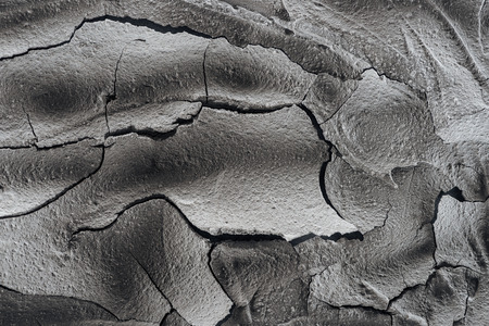 cracked barren land surface, global warming concept 스톡 콘텐츠