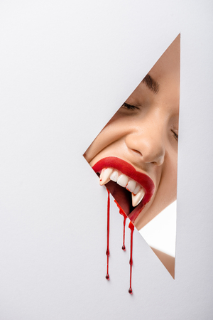 Vampire Teeth Stock Photos And Images - 123RF