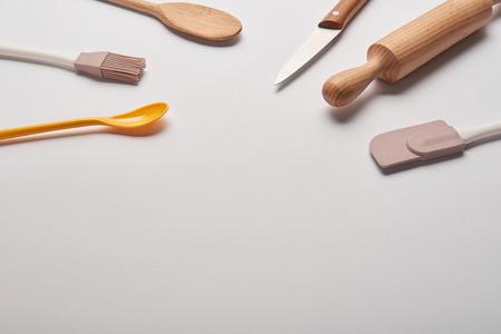 various cooking utensils on grey surface Reklamní fotografie