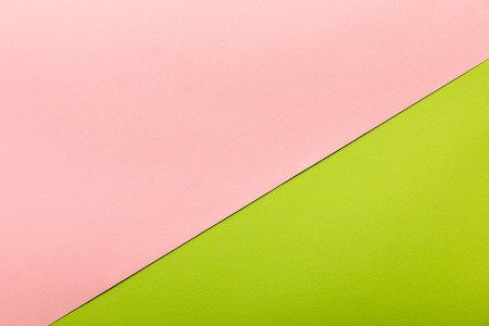 Bright pink and green background with copy space
