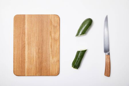 thy Eating,copy space,Studio Shot,chopping board,top view,raw food diet,clean eating Stock Photo
