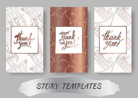 Vector Antique greek amphoras and columns. Black and white engraved ink art. Wedding background card decorative border. Thank you, rsvp, invitation elegant card illustration graphic set banner.