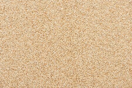 top view of unprocessed white quinoa Stock Photo - 130310432