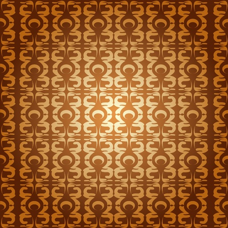 Abstract background with stylized motives pattern in IllustratorCS4