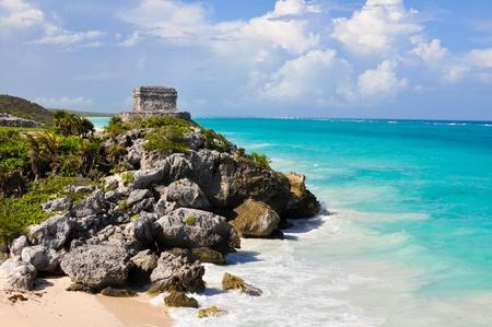 ruins by the ocean