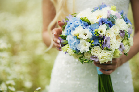 sanctification: Beautiful wedding bouquet