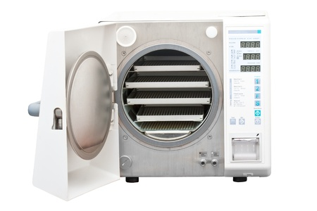 sterilize: The autoclave is an instrument used to sterilize equipment and supplies