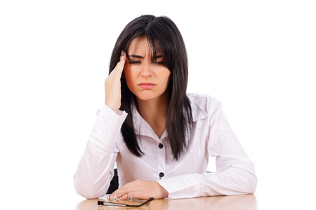 causes: Too much work for a single person causes headache.