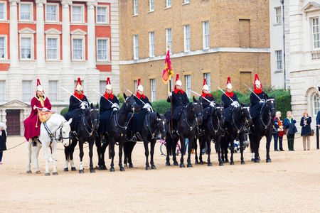 behind the scenes: An event celebrating the history and accomplishments of The Household Cavalry offering a unique behind the scenes look at the work that goes into the ceremonial and armoured reconnaissance role of HM The Queens Mounted Bodyguard.