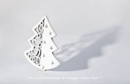 Christmas tree decoration on white with shadow Stock Photo - 11268644