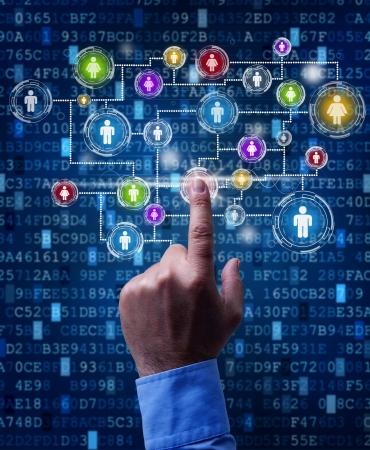 apalancamiento: Red de negocios - uso de los medios sociales y la tecnología digital